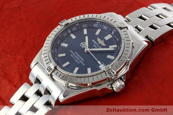 Used luxury watch Breitling Wings steel automatic Kal. B10 ETA 2892A2 Ref. A10350  | 141640 01