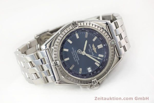 Used luxury watch Breitling Wings steel automatic Kal. B10 ETA 2892A2 Ref. A10350  | 141640 03