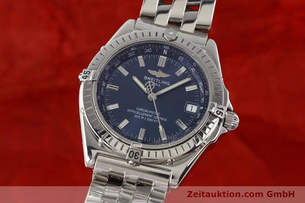 Used luxury watch Breitling Wings steel automatic Kal. B10 ETA 2892A2 Ref. A10350  | 141640 04