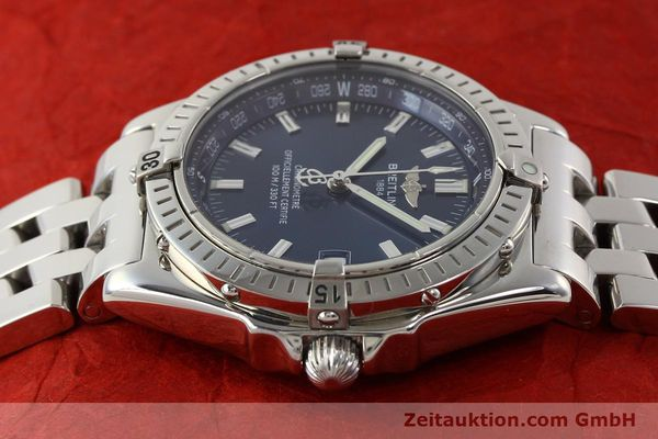 Used luxury watch Breitling Wings steel automatic Kal. B10 ETA 2892A2 Ref. A10350  | 141640 05