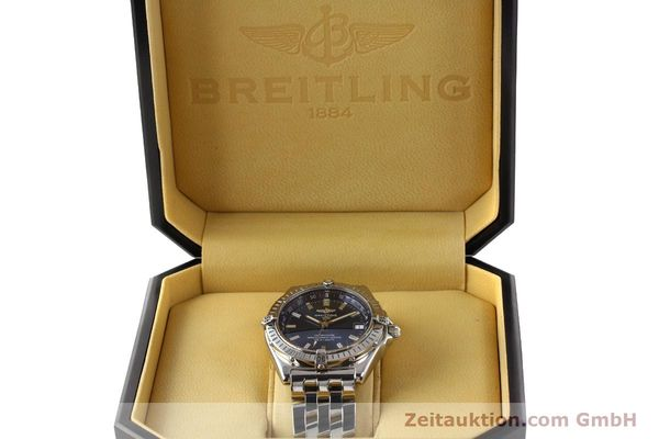 Used luxury watch Breitling Wings steel automatic Kal. B10 ETA 2892A2 Ref. A10350  | 141640 07
