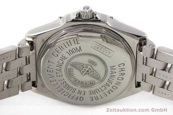Used luxury watch Breitling Wings steel automatic Kal. B10 ETA 2892A2 Ref. A10350  | 141640 09