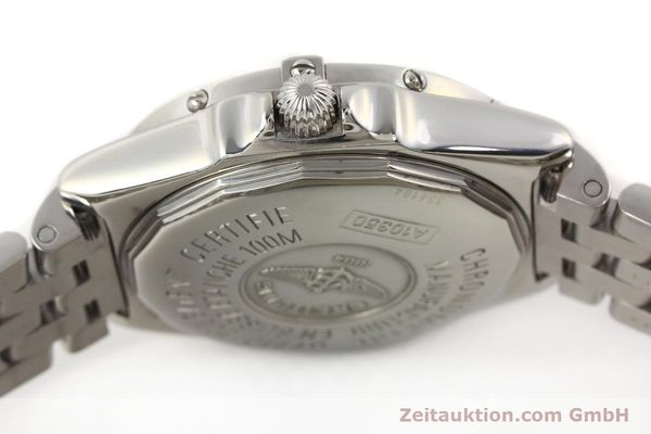 Used luxury watch Breitling Wings steel automatic Kal. B10 ETA 2892A2 Ref. A10350  | 141640 11