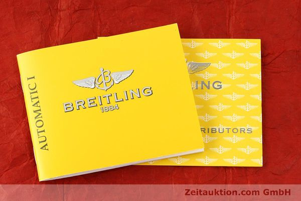 Used luxury watch Breitling Wings steel automatic Kal. B10 ETA 2892A2 Ref. A10350  | 141640 13