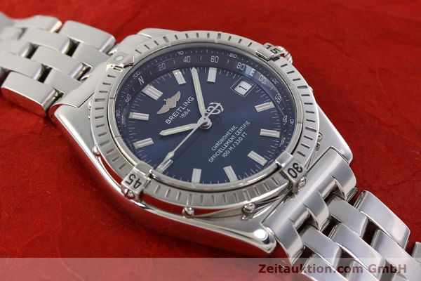 Used luxury watch Breitling Wings steel automatic Kal. B10 ETA 2892A2 Ref. A10350  | 141640 17