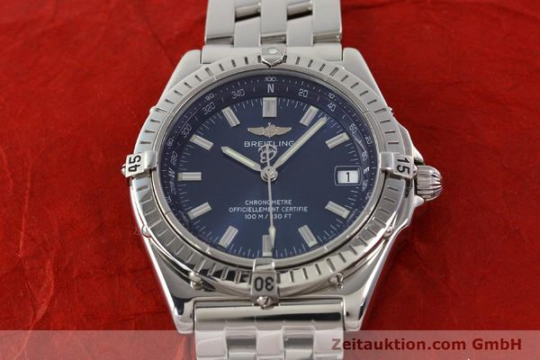 Used luxury watch Breitling Wings steel automatic Kal. B10 ETA 2892A2 Ref. A10350  | 141640 18