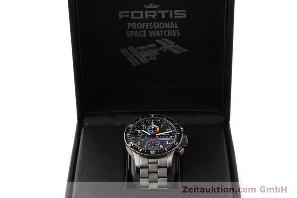 Used luxury watch Fortis B42 titanium automatic Kal. ETA 7750 Ref. 638.27.141  | 141641 07