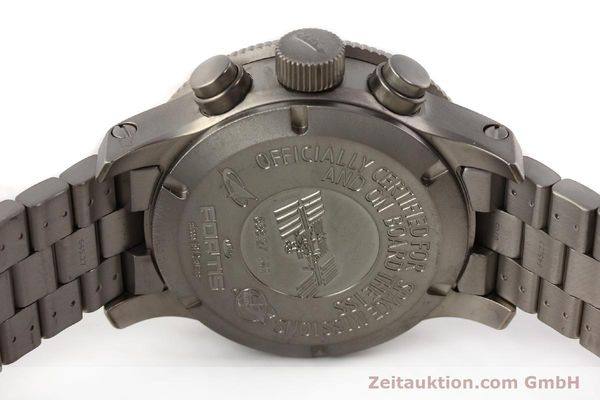 Used luxury watch Fortis B42 titanium automatic Kal. ETA 7750 Ref. 638.27.141  | 141641 09