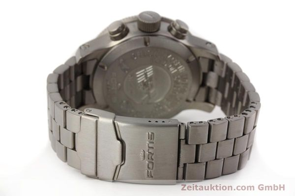 Used luxury watch Fortis B42 titanium automatic Kal. ETA 7750 Ref. 638.27.141  | 141641 12