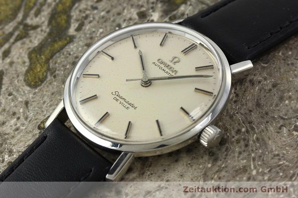 Used luxury watch Omega Seamaster steel automatic Kal. 552 Ref. 165.020  | 141642 01