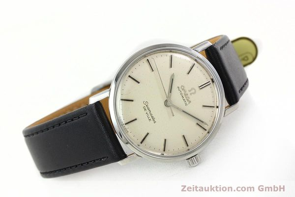 Used luxury watch Omega Seamaster steel automatic Kal. 552 Ref. 165.020  | 141642 03
