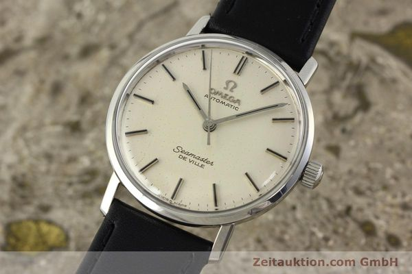 Used luxury watch Omega Seamaster steel automatic Kal. 552 Ref. 165.020  | 141642 04