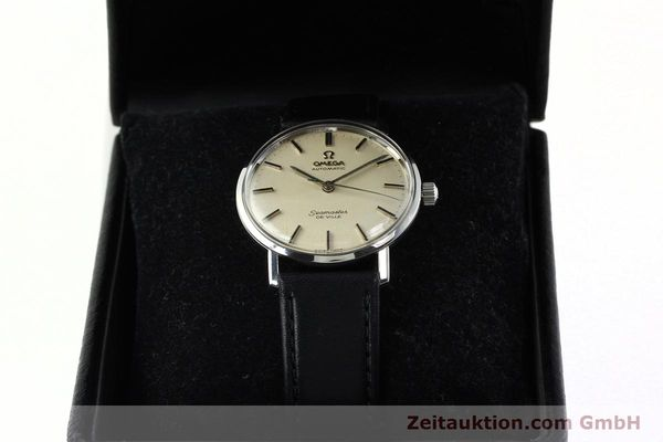 Used luxury watch Omega Seamaster steel automatic Kal. 552 Ref. 165.020  | 141642 07