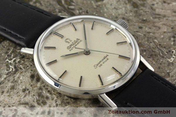 Used luxury watch Omega Seamaster steel automatic Kal. 552 Ref. 165.020  | 141642 13