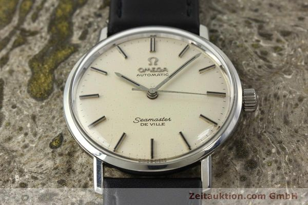 Used luxury watch Omega Seamaster steel automatic Kal. 552 Ref. 165.020  | 141642 14