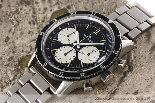 Used luxury watch Breitling Top Time chronograph steel manual winding Kal. Valj. 7736 Ref. 7656  | 141643 01