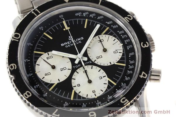 Used luxury watch Breitling Top Time chronograph steel manual winding Kal. Valj. 7736 Ref. 7656  | 141643 02