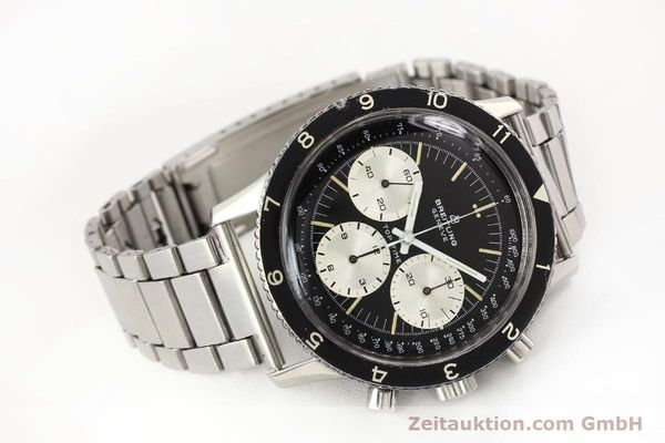 Used luxury watch Breitling Top Time chronograph steel manual winding Kal. Valj. 7736 Ref. 7656  | 141643 03