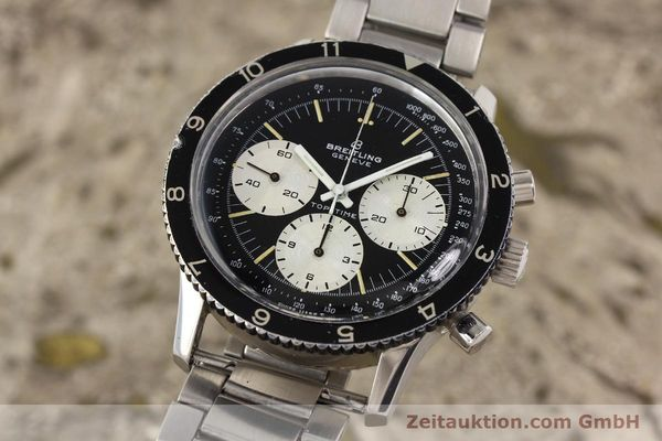 Used luxury watch Breitling Top Time chronograph steel manual winding Kal. Valj. 7736 Ref. 7656  | 141643 04