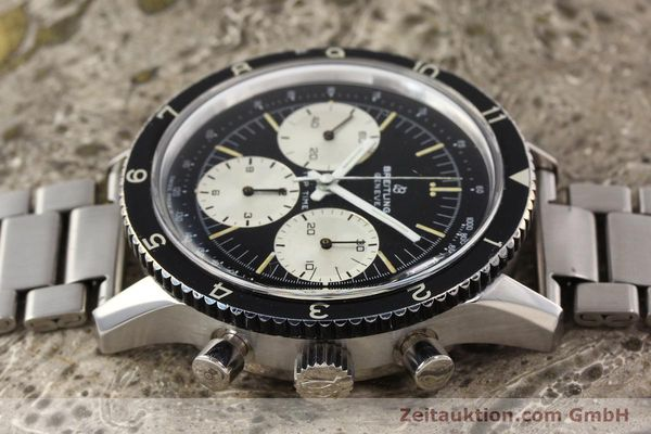 Used luxury watch Breitling Top Time chronograph steel manual winding Kal. Valj. 7736 Ref. 7656  | 141643 05