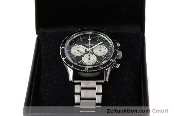 Used luxury watch Breitling Top Time chronograph steel manual winding Kal. Valj. 7736 Ref. 7656  | 141643 07