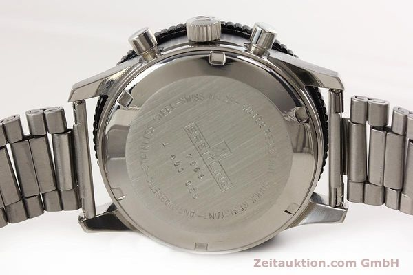 Used luxury watch Breitling Top Time chronograph steel manual winding Kal. Valj. 7736 Ref. 7656  | 141643 09