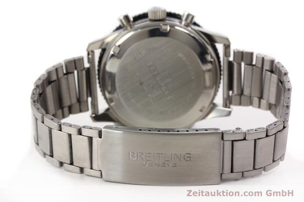 Used luxury watch Breitling Top Time chronograph steel manual winding Kal. Valj. 7736 Ref. 7656  | 141643 11