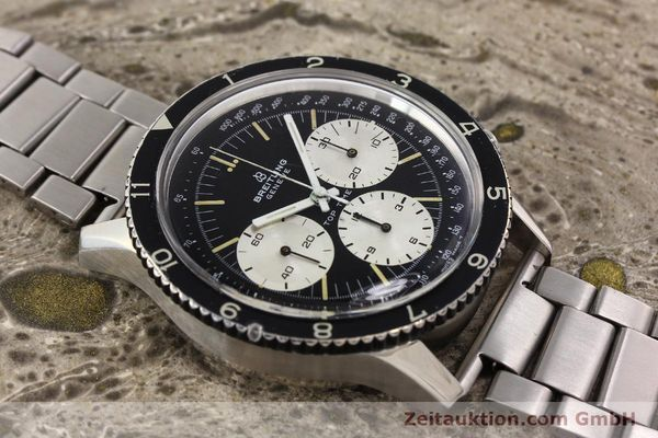 Used luxury watch Breitling Top Time chronograph steel manual winding Kal. Valj. 7736 Ref. 7656  | 141643 14
