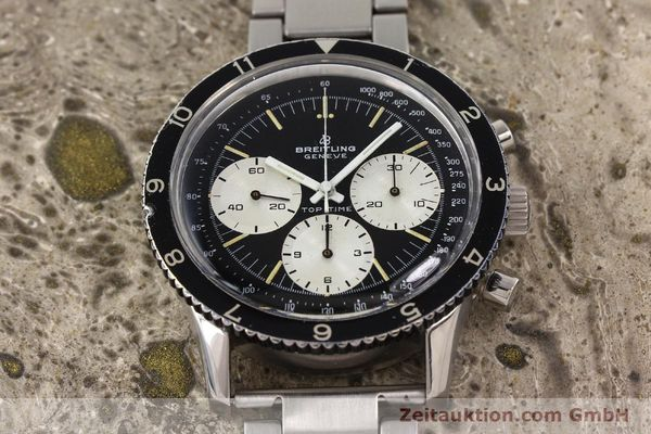 Used luxury watch Breitling Top Time chronograph steel manual winding Kal. Valj. 7736 Ref. 7656  | 141643 15