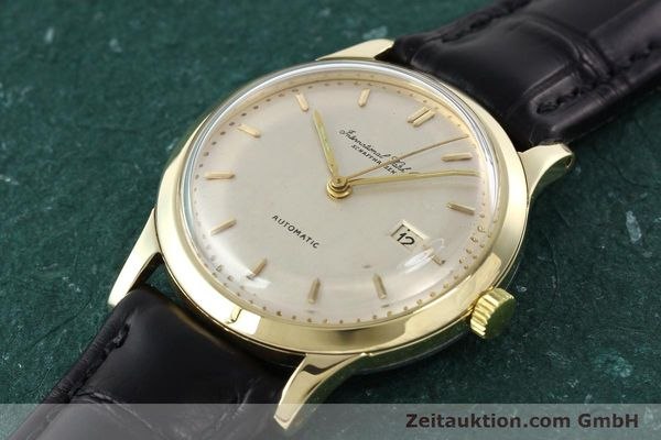 Used luxury watch IWC Portofino 14 ct yellow gold automatic Kal. C.8521  | 141644 01