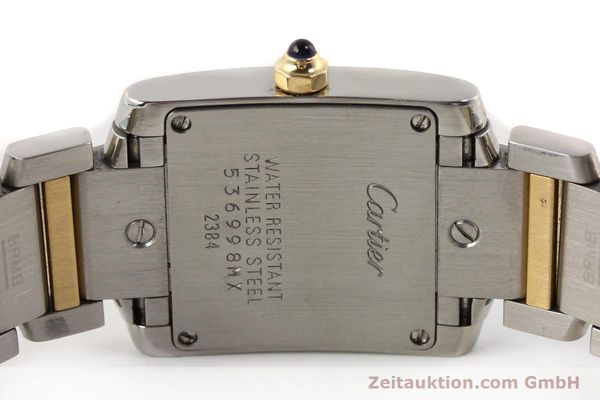 Used luxury watch Cartier Tank Francaise steel / gold quartz Kal. 057  | 141645 09