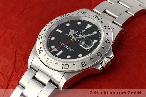 Used luxury watch Rolex Explorer steel automatic Kal. 3185 Ref. 16570  | 141646 01