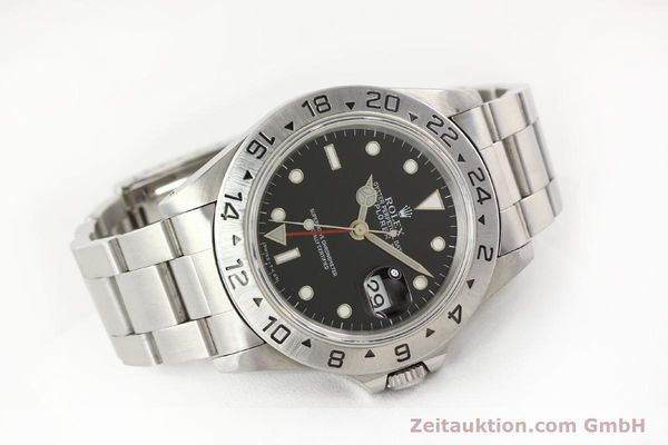 Used luxury watch Rolex Explorer steel automatic Kal. 3185 Ref. 16570  | 141646 03