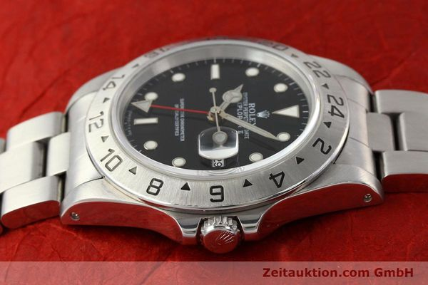 Used luxury watch Rolex Explorer steel automatic Kal. 3185 Ref. 16570  | 141646 05