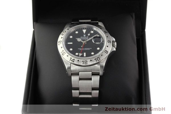 Used luxury watch Rolex Explorer steel automatic Kal. 3185 Ref. 16570  | 141646 07