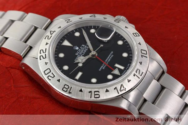 Used luxury watch Rolex Explorer steel automatic Kal. 3185 Ref. 16570  | 141646 15