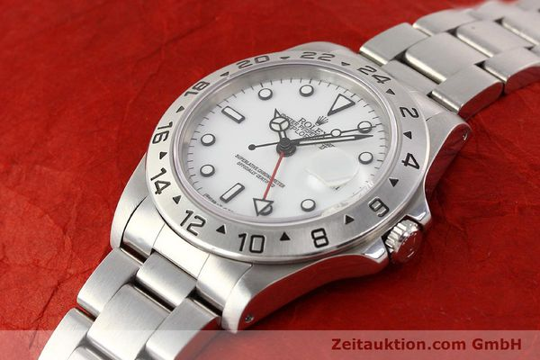 Used luxury watch Rolex Explorer steel automatic Kal. 3185 Ref. 16570  | 141647 01