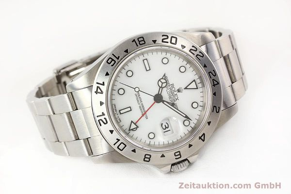 Used luxury watch Rolex Explorer steel automatic Kal. 3185 Ref. 16570  | 141647 03