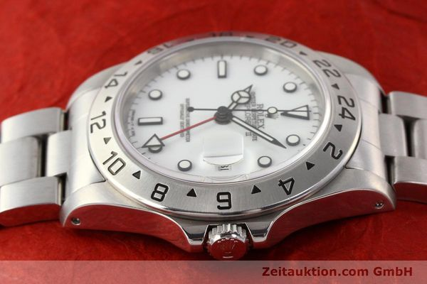 Used luxury watch Rolex Explorer steel automatic Kal. 3185 Ref. 16570  | 141647 05