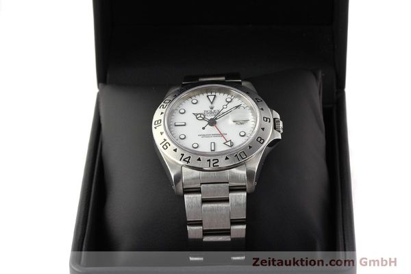 Used luxury watch Rolex Explorer steel automatic Kal. 3185 Ref. 16570  | 141647 07