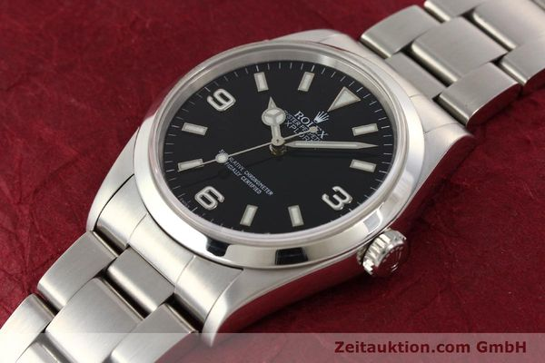 Used luxury watch Rolex Explorer steel automatic Kal. 3000 Ref. 14270  | 141648 01