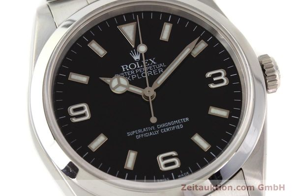 Used luxury watch Rolex Explorer steel automatic Kal. 3000 Ref. 14270  | 141648 02