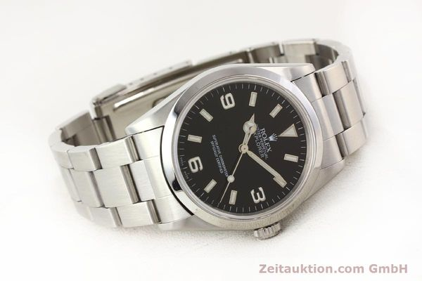 Used luxury watch Rolex Explorer steel automatic Kal. 3000 Ref. 14270  | 141648 03