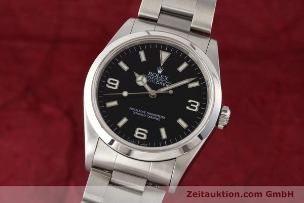 Used luxury watch Rolex Explorer steel automatic Kal. 3000 Ref. 14270  | 141648 04