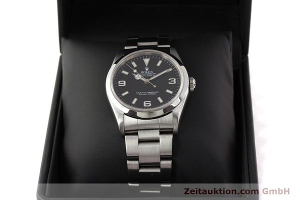 Used luxury watch Rolex Explorer steel automatic Kal. 3000 Ref. 14270  | 141648 07