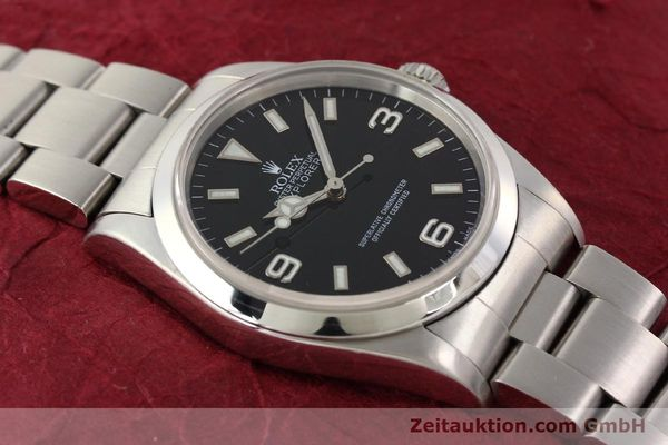 Used luxury watch Rolex Explorer steel automatic Kal. 3000 Ref. 14270  | 141648 16