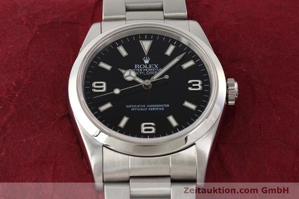 Used luxury watch Rolex Explorer steel automatic Kal. 3000 Ref. 14270  | 141648 17