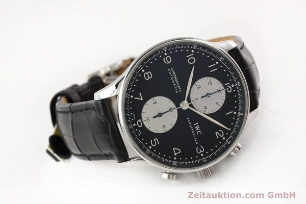 Used luxury watch IWC Portugieser steel automatic Kal. C.79240 Ref. 3714  | 141653 03