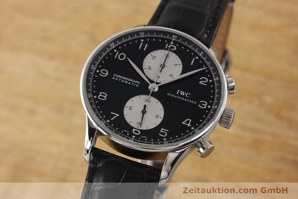 Used luxury watch IWC Portugieser steel automatic Kal. C.79240 Ref. 3714  | 141653 04