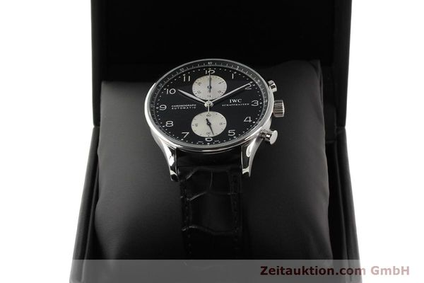 Used luxury watch IWC Portugieser steel automatic Kal. C.79240 Ref. 3714  | 141653 07